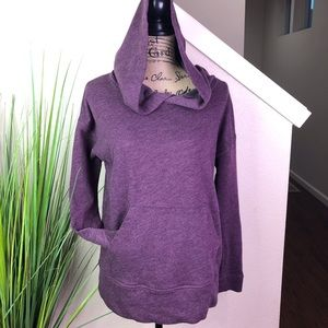 victorias secret simple sweatshirt in purple